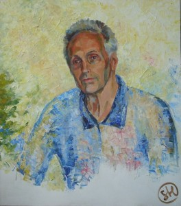 Анатолий Богод-холст, акрил