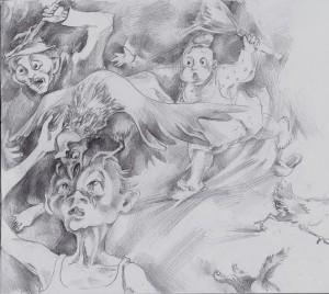 Иллюстрация к рассказу Вечная жизнь Зубова (1) (детство)