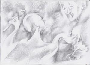 Иллюстрация к рассказу Вечная жизнь Зубова (3)  (Влюбленность)
