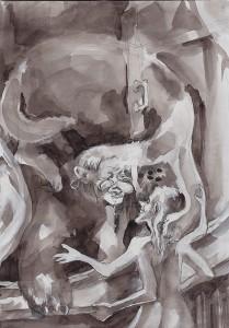 Иллюстрация к рассказу Доносчица (1)