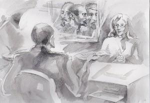 Иллюстрация к рассказу Доносчица (3)