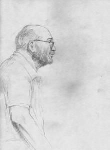 Леонид Гофман - бумага, карандаш