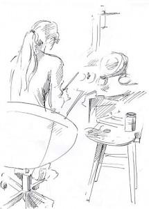 Уроки по рисунку и живописи (1) - бумага, перо
