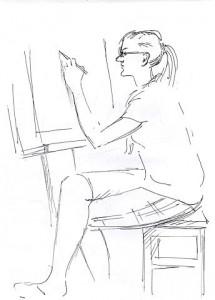 Уроки по рисунку и живописи (13) - бумага, перо