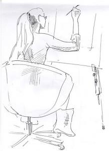 Уроки по рисунку и живописи (3) - бумага, перо
