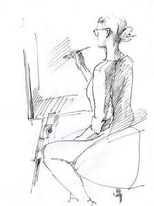 Уроки по рисунку и живописи_(4) - бумага, перо