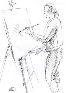 Уроки по рисунку и живописи (5) - бумага, перо