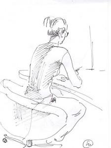 Уроки по рисунку и живописи (6) - бумага, перо