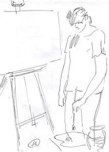 Уроки по рисунку и живописи (7) - бумага, перо