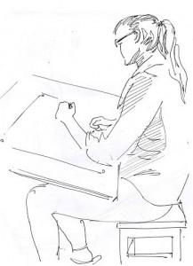 Уроки по рисунку и живописи (8) - бумага, перо