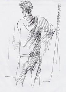 Уроки по рисунку и живописи (9 )- бумага, перо