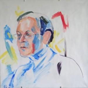 Яков Маршак, живопись акрил 2016